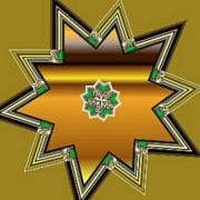 Goldgreenstar25
