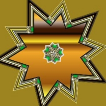 Goldgreenstar3